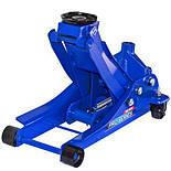 Домкрат гидравлический для шиномонтажа СТО подкатной 3 тонны 85мм - max 455мм с низким подкатом, фото 6