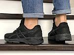 Чоловічі кросівки Asics GT1000 (чорні) 8959, фото 3