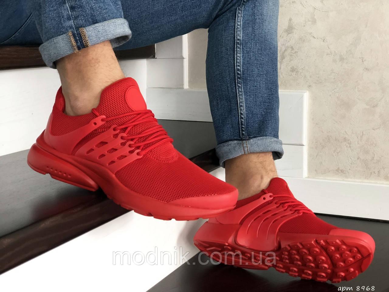 Мужские кроссовки Presto (красные) 8968