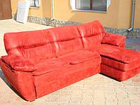 Мягкий диван угловой Бавария (для ежедневного сна ),с нишей для белья