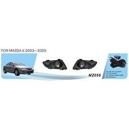 Фары доп.модель Mazda 6 2003-05/MZ-056W/эл.проводка (MZ-056W)