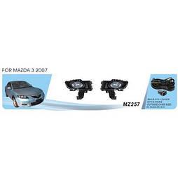 Фары доп.модель Mazda 3 2007-09/MZ-257W/эл.проводка (MZ-257W)