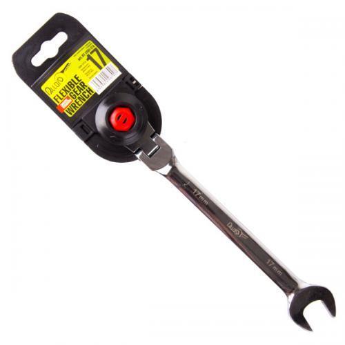 Alloid. Ключ комбинированный трещоточный с карданом 19 мм.(КТ-2081-19К) (КТ-2081-19К)