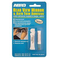 ABRO Клей для зеркала заднего вида (1,2 мл) клей для стекла