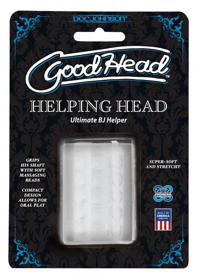 Doc Johnson- Сквозной Мастурбатор GoodHead Helping Head