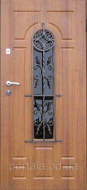 """Вхідні двері для вулиці """"Портала"""" (Преміум Vinorit) ― модель Кування 31"""