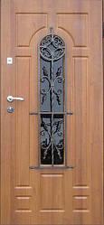 """Стальная дверь элит класса для улицы """"Портала"""" (Элит Vinorit) ― модель Ковка 31"""
