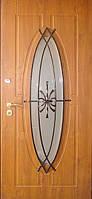 """Входная дверь для улицы """"Портала"""" (Премиум Vinorit) ― модель Ковка 27"""