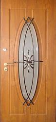 """Входная металлическая дверь для улицы """"Портала"""" (Элит Vinorit) ― модель Ковка 27"""