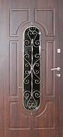 """Стальная входная дверь для улицы """"Портала"""" (Элит Vinorit) ― модель Ковка 28, фото 1"""