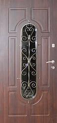 """Стальная входная дверь для улицы """"Портала"""" (Элит Vinorit) ― модель Ковка 28"""