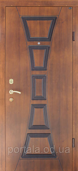 """Вхідні двері для вулиці """"Портала"""" (серія Еліт Vinorit) ― модель Філадельфія Patina"""