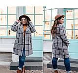 Пальто Minova 75Б-темно-синий, фото 3