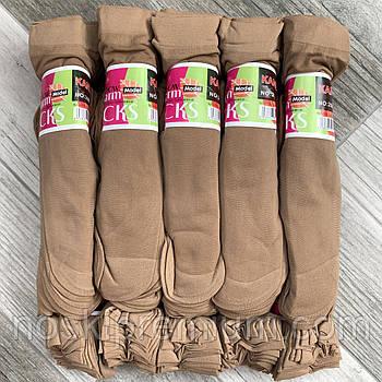 Носки женские капрон рулон, пучок Kena, 23-25 размер, бежевые №8, 02684