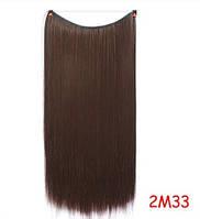 Трессы длинные коричневые волосы канекалон