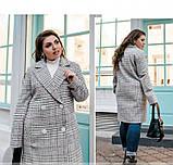 Пальто Minova 775Б-бордо, фото 2