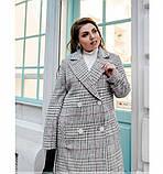 Пальто Minova 775Б-бордо, фото 3