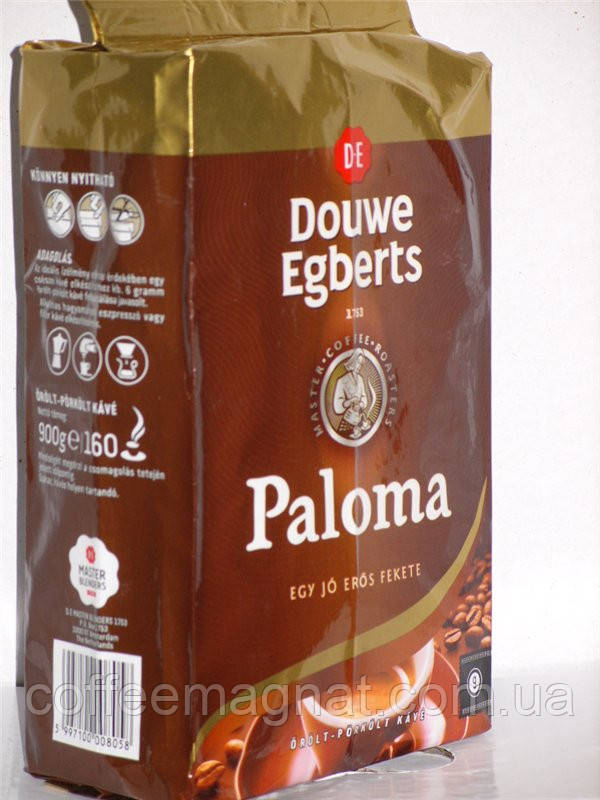 Кофе молотый DOUWE EGBERTS Paloma 900г - Кофе Магнат в Киеве