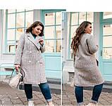 Пальто Minova 775Б-cерый, фото 2