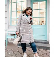 Пальто Minova 775Б-cерый