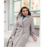 Пальто Minova 775Б-cерый, фото 4