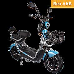Электрический мопед  CITY gy-4 350W/48V (серо-голубой)