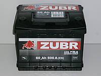 Аккумулятор Zubr Ultra (Зубр) 60 Ah  500 А