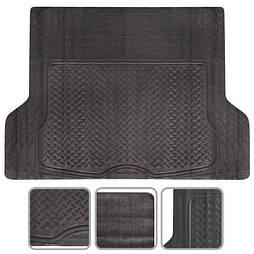 Автомобильный Коврик багажника PVC  черн. 140х112 универсальный