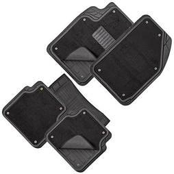 Автомобильные Коврики PVC съемный войлок  5шт./компл. черные 74x50 47x50 23x50