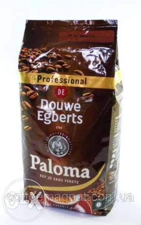 Кофе в зернах DOUWE EGBERTS Paloma 1кг - Кофе Магнат в Киеве