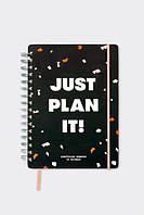 Планер Just plan it (Черный)
