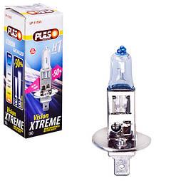 Лампа PULSO/галогенная H1/P14.5S 12v55w+50% X-treme Vision/c/box (LP-11555)