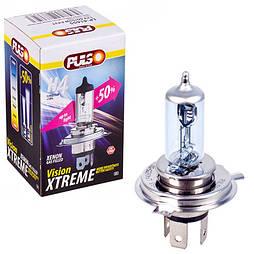 Лампа PULSO/галогенная H4/P43T 12v60/55w+50% X-treme Vision/c/box (LP-41655)