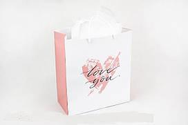 Подарочный пакет Love you