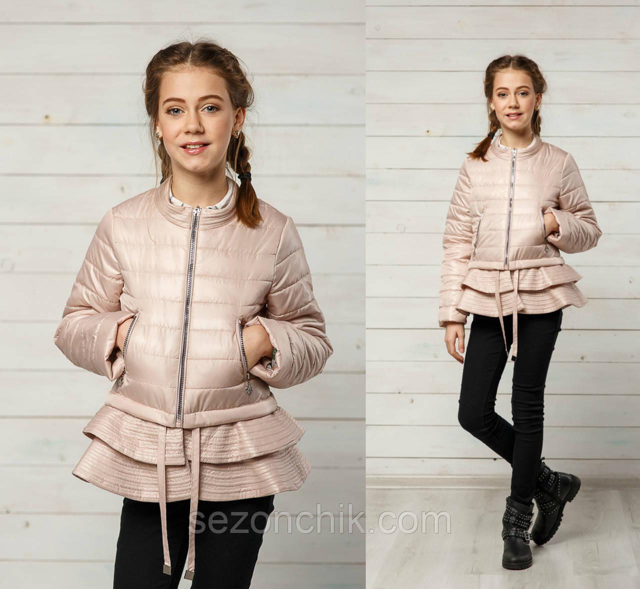 Куртки хорошего качества от производителя на девочек