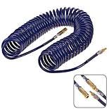 Alloid. Шланг спиральный для пневмоинструмента 8мм*12мм*15м (полиуретан) (ШП-81215), фото 3