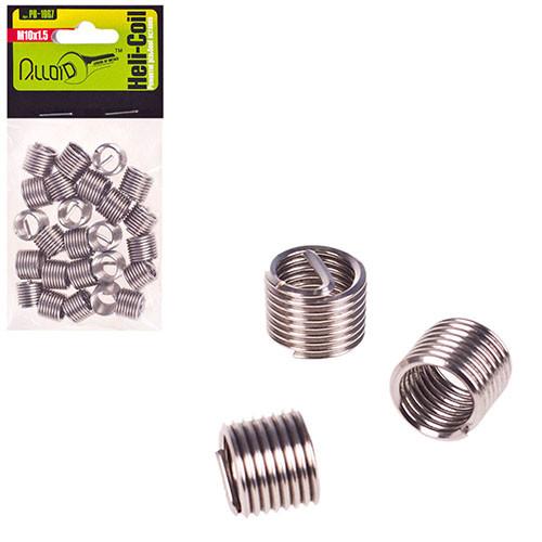 Alloid. Ремонтные резьбовые вставки M10х1.5, 25 шт/уп. (РВ-1067) (РВ-1067)
