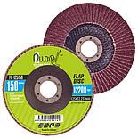 Alloid. Круг лепестковый торцевой 125 мм, зерно 150 (FD-125150), фото 4