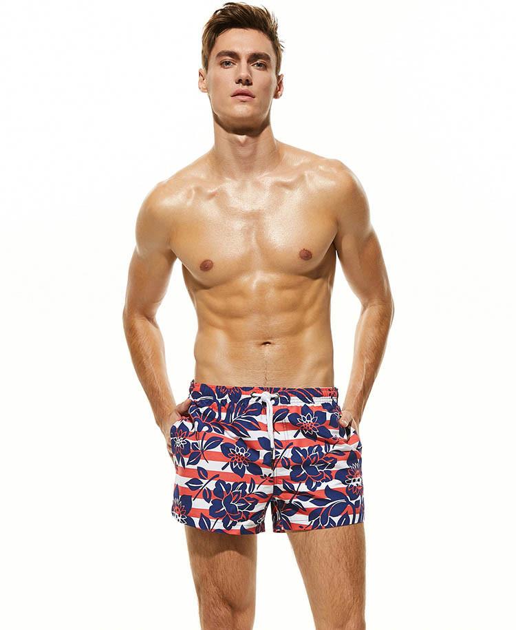 Летние мужские шорты для купания Seobean - №4419