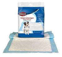 Trixie Одноразовые пелёнки для собак с абсорбирующим полимером, 40х60см 50шт