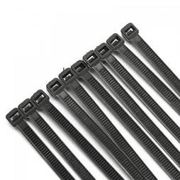 Хомут пластиковый VARGO 5х400мм 100шт./уп. черный (V-118150) (118150)