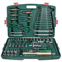 """HANS. Набор инструмента  1/4""""DR4-14мм и 1/2""""DR10-32 мм,109 предм (TK-109)"""