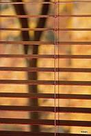 Жалюзи горизонтальные бамбуковые кофе 50 мм производство под заказ