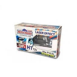 Автолампа MITSUMORO Н1 12v 55w   P14,5s +150 laser effect (ближний, дальний, птф) (M72120 PS/2)