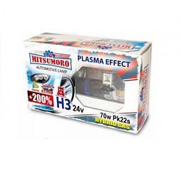 Автолампа MITSUMORO Н3 12v 55w Pk22s  +200 plasma effect (птф) (M72320 NB/2)
