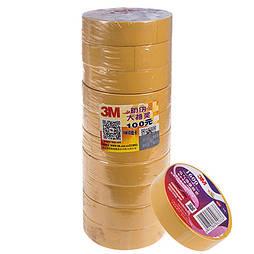 Изолента 3М 18мм*20м*0,15мм Yellow (3М 1600)