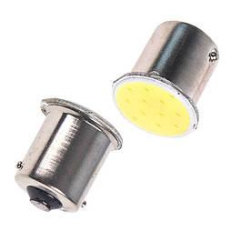 Лампа диодная S25 1156-COB-12 1 контакт  08479 (1156-COB-12)