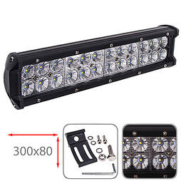 Фара прожектор LML-C2072F FLOOD (24led*3w 300х80мм) (C2072F F)