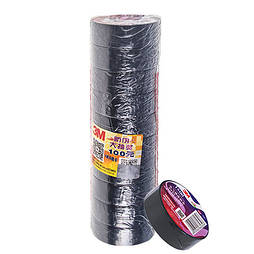 Изолента 3М 17мм*18,3м*0,12мм Black (3М 1200)