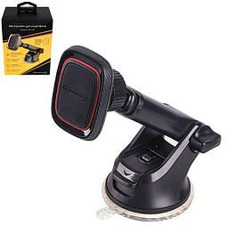 Держатель мобильного телефона Grand-X (магнитный на присоске, телескоп) МТ-06 (МТ-06)